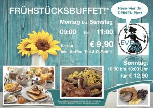 Montag - Samstag ! Frühstücksbuffet für nur € 9,90 inkl. endlos Kaffee!!! @ EVEand Cafe | Viersen | Nordrhein-Westfalen | Deutschland